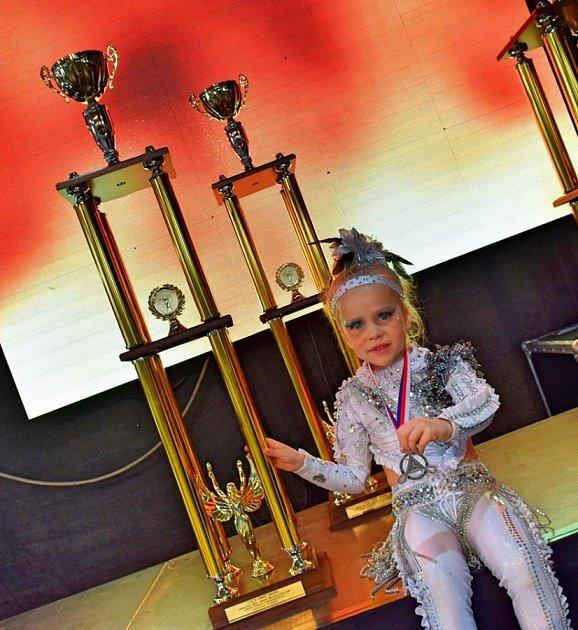 ŠESTILETÁ JASMÍNA Vaňková je nadějnou malou tanečnicí. VDance4Life začínala už jako dvouletá.