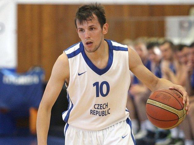 Jakub Šiřina (v prvním zápase proti Slovensku v Brně)