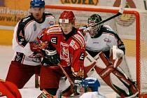 Vladimír Holík (vlevo) bude hrát v nadcházející sezoně za Opavu.