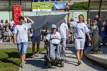 Už patnáctý ročník Sportovních her tělesně postižených uspořádalo Centrum sociálních služeb v Hrabyni.
