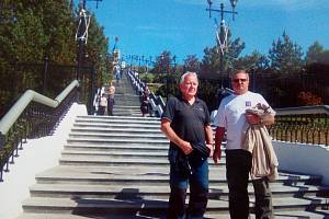Transsibiřskou magistrálou se z Opavy vydali po stopách českých legionářů