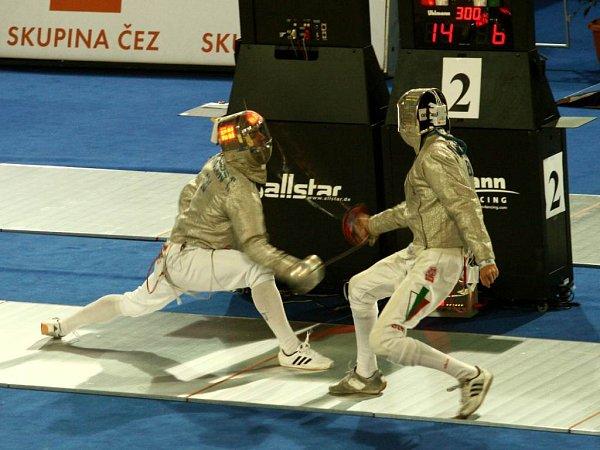 Čeští šermíři tentokrát na medaile nedosáhli.