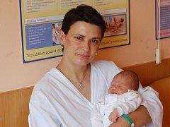 """Tereza Kociánová se narodila 29. července, vážila 3,18 kg a měřila 50 cm. """"Doma už se na miminko těší sestřička Silvinka. Přejeme hlavně zdravíčko, štěstí, a aby se měla dobře,"""" uvedla maminka Silvie a tatínek Antonín Kociánovi z Dolních Životic."""