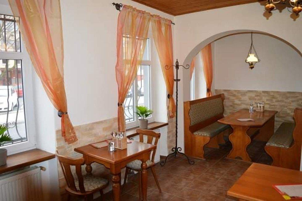 Restaurace U Hořínků - interiér.