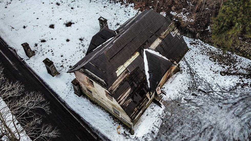 Jánské Koupele nejen pohledem z dronu.