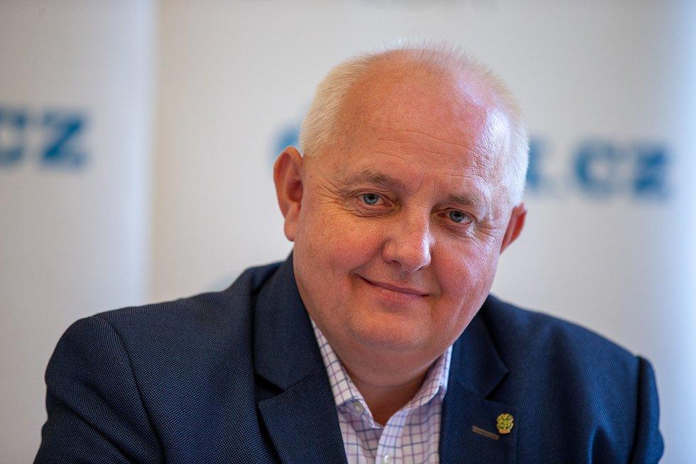 Setkání Sdružení obcí Hlučínska, 17. dubna 2019 v Kravařích. Na snímku Pavel Paschek.