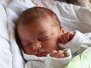 Eliška Korbelová se narodila 20. května, vážila 3,16 kilogramů a měřila 50 centimetrů. Rodiče Anna a Radek z Oldřišova přejí své prvorozené dceři do života zdraví a štěstí.