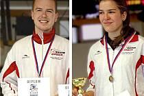 Opavští šermíři Robert Zwinger a Eva Havranková dosáhli na další úspěch.