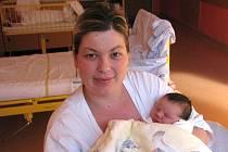 """Matyas Dober se narodil 25. října, vážil 3,60 kg a měřil 50 cm. Chlapeček i jeho maminka, Silvie Dober, jsou z Hlučína. """"Doma na se něho těší osmiletý bratříček Tobias,"""" směje se šťastná maminka a dodává: """"Přeji mu zdraví, štěstí a úspěch v životě."""""""