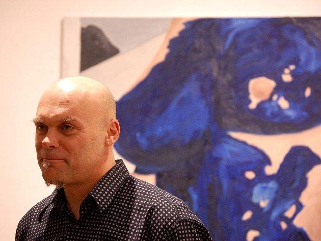 V hlavních prostorách galerie jsou do 29. března k vidění obrazy akademického malíře Romana Franty.