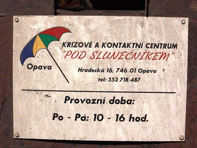 Opavské K-centrum Pod slunečníkem.
