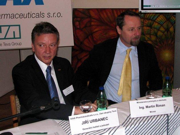 Generální ředitel opavského Ivaxu Jiří Urbanec.