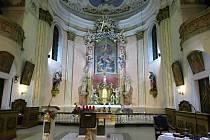 Kostel v Budišově nad Budišovkou.