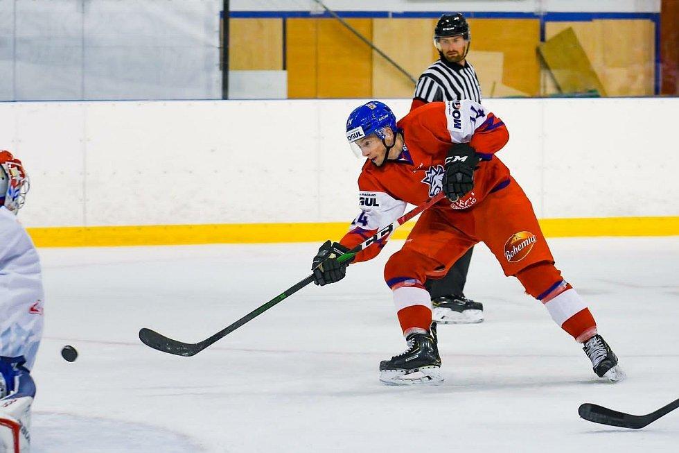 Hokejový útočník Marcel Barinka. Foto: Archiv Marcela Barinky