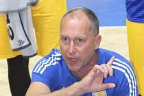 Opavský trenér Petr Czudek