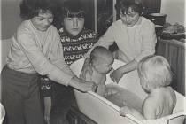 Děti se vždy nejvíce těšily na společně strávený čas a sladkosti, na které si musely vystát frontu.