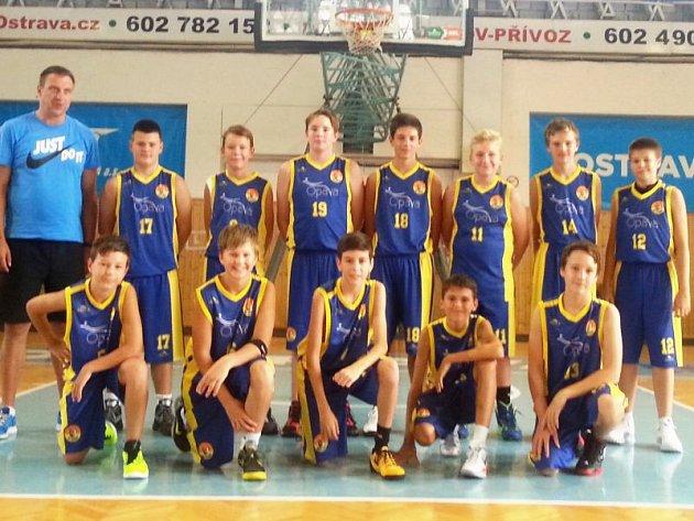 BK Opava na turnaji v Ostravě.