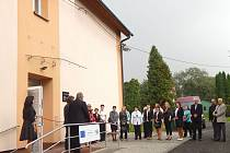 Nové Centrum sociálně rehabilitačních služeb bylo před nedávnem slavnostně otevřeno.