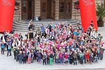 Už pošesté připravilo statutární město Opava pro nově nastupující prvňáčky slavnostní přivítání mezi školáky.
