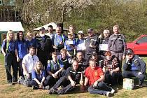 Seniorské jaro 2010. Na tuto soutěž v požárním sportu byli pozváni dobrovolní hasiči z Uhlířova. Akce se konala v družební obci Čtyřkoly v okrese Benešov.