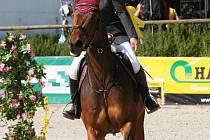 V Opavě se představí také Lucie Strnadlová s koněm Atlantou.