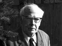 Arnošt Rychlý v době, kdy mu bylo sedmasedmdesát let.