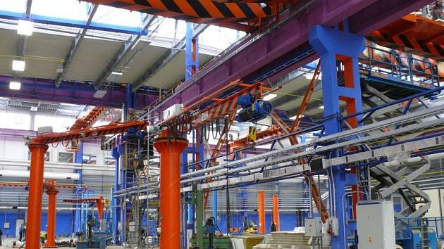 Nová hala MSA byla vybudována v rámci modernizace firmy, která odstartovala začátkem letošního roku.