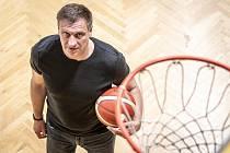Basketbalista David Klapetek poskytl Deníku rozhovor, 5. března 2021 v Opavě.