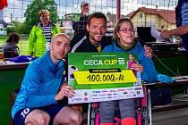 Ceca Cup znovu proběhl v areálu opavské Slavie na Minervě, jehož patronem je útočník italského Bari Libor Kozák.