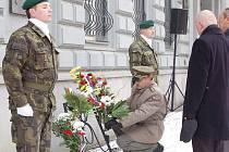 Také v Opavě si v neděli připomněli 160. výročí narození prvního prezidenta svobodného Československa Tomáše Garrigue Masaryka.