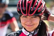 Lucie na kole závodí teprve krátce. Přesto na sebe úspěchy nenechaly dlouho čekat.
