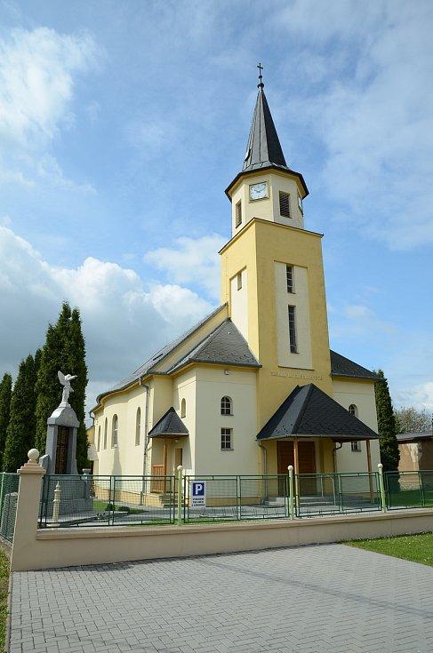 Kostel sv. Urbana v Zábřehu.