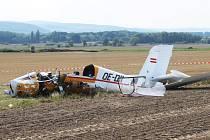 Při tragické letecké nehodě v Dolním Benešově-Zábřehu zemřeli dva Rakušané.