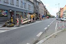 Práce v Krnovské ulici pokračují - Ilustrační foto.