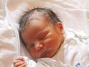 Václav Daněk se narodil 25. dubna, vážil 3,28 kilogramů a měřil 49 centimetrů. Rodiče Vendula a Jan z Opavy přejí svému prvorozenému synovi do života zdraví a úsměv na tváři.