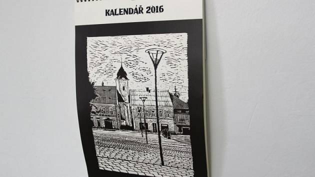 Titulní strana nového hlučínského kalendáře.
