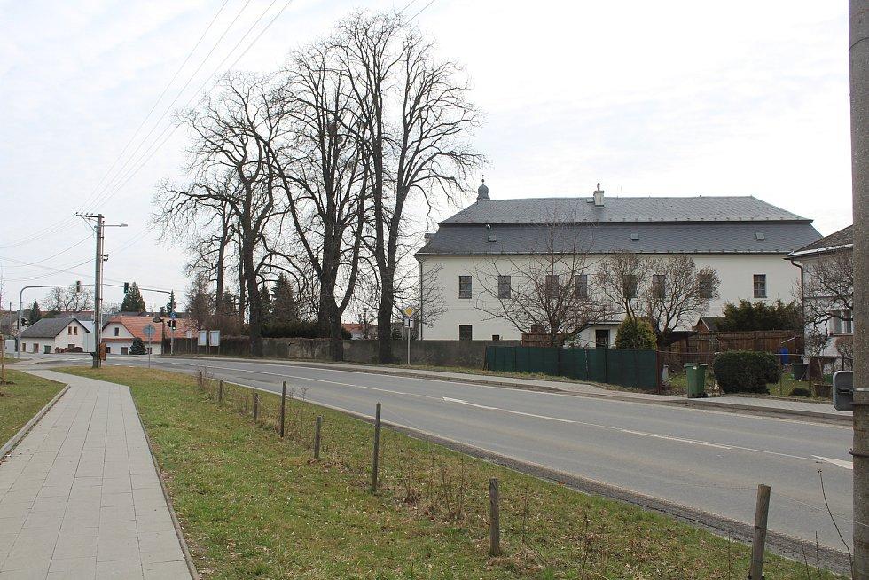 Zámek v Litultovicích.