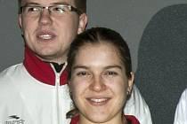 Opavští šermíři Eva Havranková a Robert Zwinger byli na ostravském turnaji vidět.
