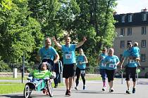 Joy Run je závod, ve kterém běhají zdraví lidé s těmi handicapovanými. V Opavě v sobotu proběhl už třetí ročník a letošek byl rekordní.