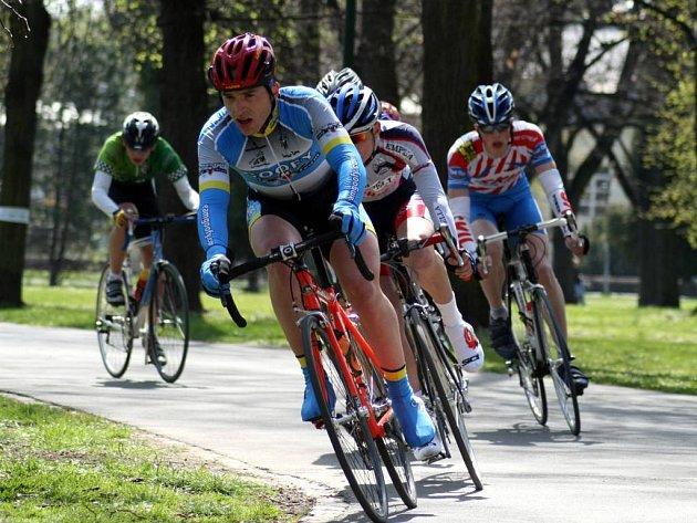Opavští cyklisté na Závodě míru.