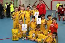 Spartak Budišov nad Budišovkou na turnaji oslavil vítězství.