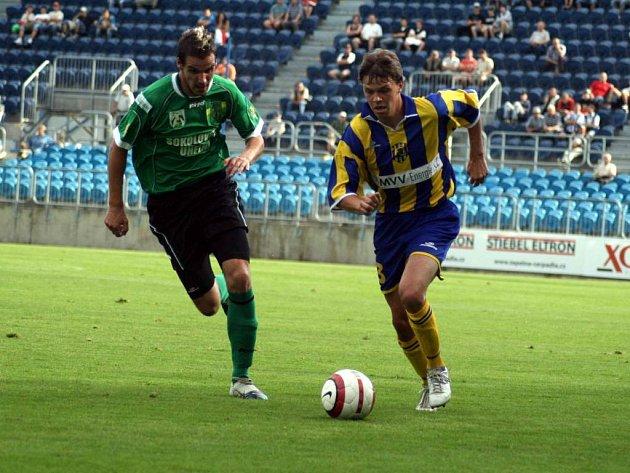 Záložník Václav Zapletal patřil v jarní části II. fotbalové ligy k největším tahounům opavského týmu.