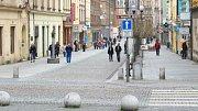 Ostrožná ulice v Opavě. Ilustrační foto.