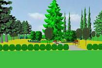 Park je středem celé obce. Jeho revitalizací by mělo vzniknout místo pro odpočinek obyvatel.