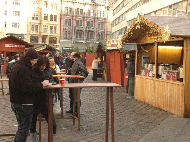Vánoční trhy v Opavě. Ilustrační foto.