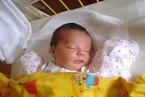 """Kristína Dobrušová se narodila 1. dubna, vážila 2,88 kg a měřila 47 cm.  """"Je to naše první miminko. Do života jí přejeme, ať je zdravá, šťastná a obklopena láskou,"""" popřáli miminku šťastní rodiče Eva a Radek Dobrušovi z Hradce nad Moravicí."""
