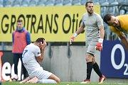 Zápas 15. kola fotbalové FORTUNA:LIGY mezi SFC Opava a FC Baník Ostrava.