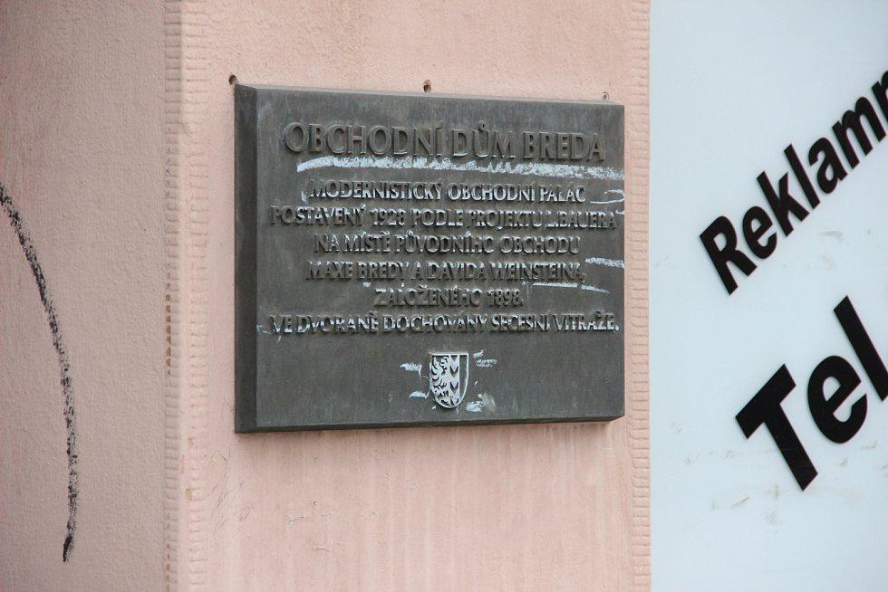 Obchodní dům Breda v Opavě prošel po dvou letech opět kontrolou ze strany památkářů.