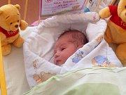 Nela Buriánová se narodila 15. září, vážila 3,15 kilogramů a měřila 50 centimetrů.