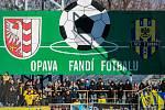 Fotbalové utkání SFC Opava - FC Baník Ostrava.